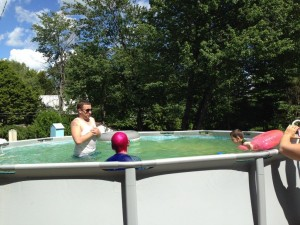 Pool with Adult